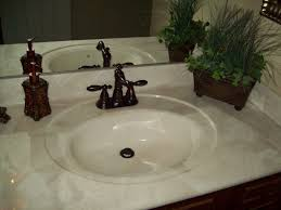 Marble Bathroom Vanity Tops Countertops Cultured Marble Tub Surround Kits Home Design And Decor