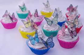 edible cake decorations butterflies edible 20pc cupcake toppers cake decoration birthday