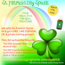st patrick u0027s day special young living essential oils special