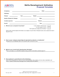 Business Lease Proposal Template Sales Proposal Template Sop Proposal