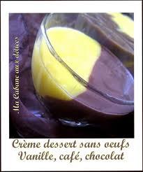 recette de cuisine sans oeuf creme dessert sans oeufs recettes faciles recettes rapides de djouza
