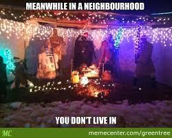Light Show Meme - a fireman s christmas light decoration holiday light show videos