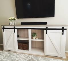 sliding door console do it yourself home projects from ana white