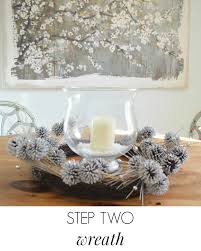 winter decorations simple winter table decorations tutorial