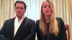 Heard Johny Depp Amber Heard Say Sorry For Dog Smuggling Cnn