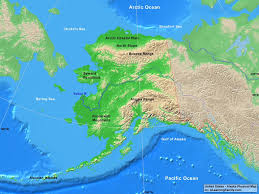 United States Learning Map by Usa Alaska Physical Map A Learning Family