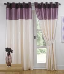 Plum Faux Silk Curtains Plum Aubergine Eyelet Curtains Faux Silk Vienna 66 X 90