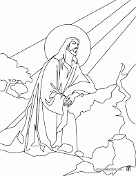 religious easter coloring pages ascension of jesus coloring home