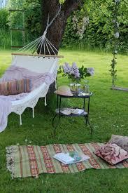 backyard hammock swing home outdoor decoration