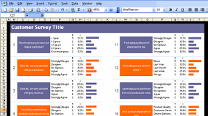 Customer Management Excel Template Excel Customer Survey Template