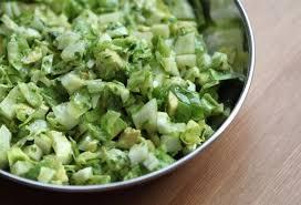 salade verte fenouil et avocat notrefamille cuisine