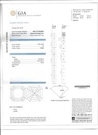 diamond clarity chart scale 1 03 ct asscher cut diamond solitaire engagement ring gia h vvs2