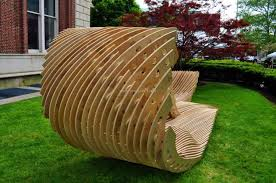 Patio Seating Ideas Architectural Wood Patio Seating Upcycle Art