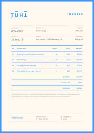 Inspiring Resumes Invoice Design 50 Examples To Inspire You Invoice Design Form
