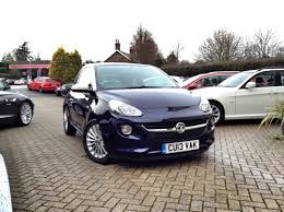 vauxhall purple vauxhall adam 1 4 glam style pk 3dr sold at cmc cars near
