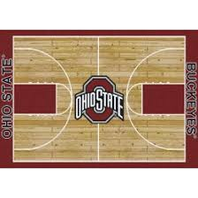 Ohio State Runner Rug Waxmansrugs In Stock Area Rug And Pad Collection Rack 2