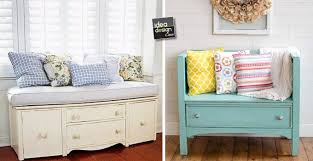 divanetto cucina trasformare un vecchio mobile in un bel divanetto 20 idee