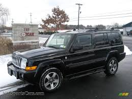 jeep black 2016 2008 jeep commander sport 4x4 in brilliant black crystal pearl
