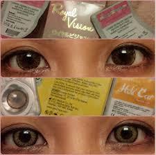24 women color contact lenses images