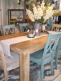 farmhouse kitchen furniture the table dressing with the mix of chairs cool shabby