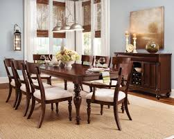 Wooden Dining Room Sets by Dining Room Colonial Decoration Diningroom Using Stunning Chairs