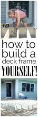 How To Build A Wood Awning Over A Deck Best 25 Build A Deck Ideas On Pinterest Building A Deck Pool