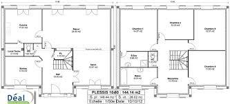 plan maison 5 chambres gratuit plan maison 1 chambre plan habill rdc maison maison moderne et
