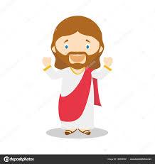 imagenes de jesucristo animado personaje de dibujos animados de jesús de nazaret ilustración de
