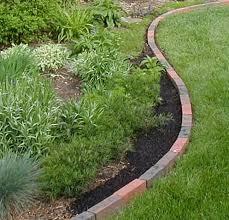 brick flower bed borders qtlvjoe2 front bed pinterest brick