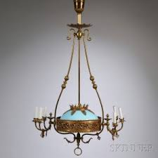 Opaline Chandelier Search All Lots Skinner Auctioneers