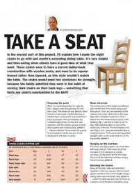 Dining Chair Plans 328 Pine Dining Chair Plans Furniture Plans And Projects