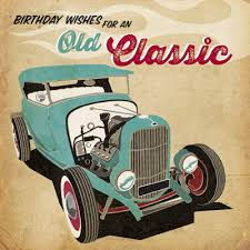 old classic birthday card karenza paperie
