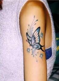 small flower and butterfly coloured tattoos search