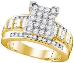 cinderella engagement ring 10k yellow gold s cinderella bridal wedding