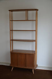 Ercol Bookcase Ercol Elm Room Divider Shelving Unit C 1960 England By Mr