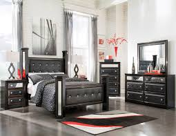 alamadyre upholstered poster bedroom set from ashley b364 67 64