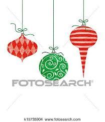 Drawing Christmas Ornaments