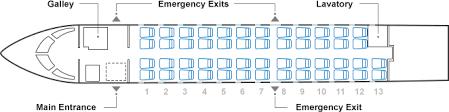 Interior Layout Aircraft