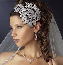 headband online headband silver wedding tiara at bling brides bouquet