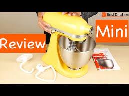 Mini Kitchen Aid Mixer by Kitchenaid Artisan Mini Review Youtube