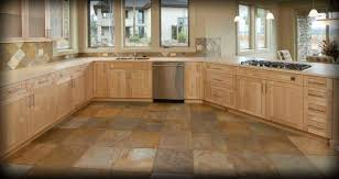 Cork Flooring In Kitchen by Awesome Tile Kitchen Floor Images With Large Spaces Surripui Net