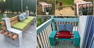 diy cinder block bench home design garden u0026 architecture blog