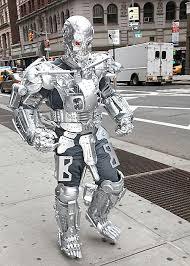 Robot Halloween Costume 8 Extreme Halloween Costumes Geeks Techeblog