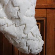fur christmas faux fur christmas tree skirt wayfair