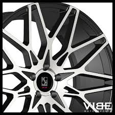03 mustang gt rims 20 koko kuture funen machined concave wheels rims fits ford