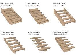 wooden stair stringers brisbane stair treads risers wood stair
