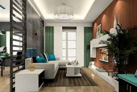 interior tips living room partition wall designs with white sofa