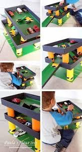 Build Wooden Toy Garage by Best 25 Toy Garage Ideas On Pinterest Outdoor Toys Auto Garage