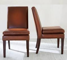 turner leather side chair pottery barn how about a couple of