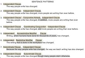 identify sentence pattern english grammar how many sentence patterns are there in a specific language quora